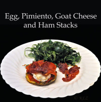 Goat Cheese And Polenta Stack Recipes — Dishmaps