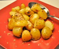 Roast Lemon Potatoes