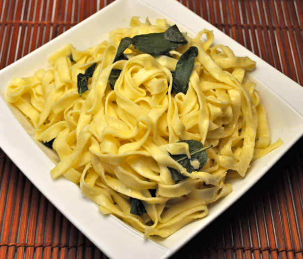 Pasta with Fried Sage